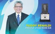 Dirut bank bjb Yuddy Renaldi Menerima Gelar Bankers of The Year 2020