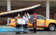 Bank bjb Serahkan Bantuan Penanggulangan Bencana kepada Pemkab Ciamis
