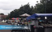 2 Pekan PPKM, Pedagang Alun-Alun & PKL Tawangmangu Tutup Total