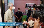 Ganjar Dorong Percepatan Vaksinasi Nakes: Masih Terkendala Soal Daftar