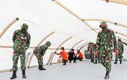 Tenda Perawatan Sudah Berdiri, Sepekan Lagi Rumkitlap Rampung