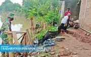 Tanah Bergerak, 4 Rumah Warga di Sragen Terancam Hanyut