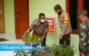 Posko PPKM Mikro Berhasil, Desa Kemudo Sandang Status Zona Hijau