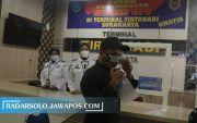 Terminal Tirtonadi Awasi Gelombang Mudik Dini, Penumpang Dites GeNose