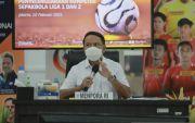 Menpora Akui Jokowi Minta Liga 1 & Liga 2 2021 Disiapkan Matang