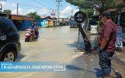 Luapan Kali Langsur Banjiri Kawasan Industri & Persawahan Sukoharjo