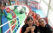 Mini Transtudio, Lenmarc Mall, Teriak Bareng Nikmati Wahana Ekstrim