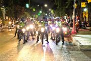 Kapolres Gelar Patroli Malam Sambut Kunjungan Jokowi