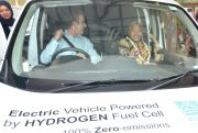 Dishub Uji Coba Kendaraan Hidrogen Ramah Lingkungan