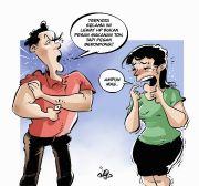 Senjata' Suami Terlalu Mini, Karin Nekat Jadi Sugar Mommy