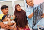 Aqila-Azila Sukses Dipisah, Silvina Ingin Ajak Bayinya Jalan-jalan