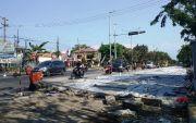Seminggu Lagi Preservasi Selesai, Jalan Raya Candi Bakal Mulus