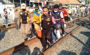 Gangguan Pendengaran, Warga Asem Jaya Ditabrak KA Maharani