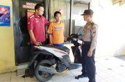 Apes, Mau Barter Motor Curian ke Korban Ditangkap Polisi