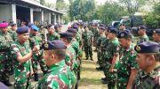 Lantamal V Siagakan Pasukan Jelang Pelantikan Presiden