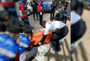 Tragis, Nabrak Pikap Muat Seng, Pengendara Motor Tewas Lehernya Sobek