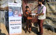 Malnutrisi Membelenggu Anak Gaza, GHR ACT Bantu Makanan Bergizi