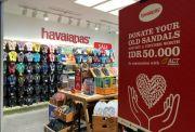 Bersama ACT, Havaianas Ajak Donasikan Sandal Layak Pakai