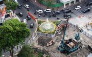 Kebut Proyek Alun-Alun Suroboyo, Bulan Depan Siap Dinikmati