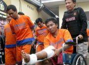 4 Komplotan Curanmor Bersenjata Bondet Ditembak Polisi