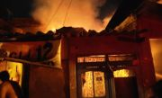 Rumah Semipermanen Ludes Dilalap Api