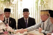 Presiden Jokowi Jadi Saksi Pernikahan Putri La Nyalla