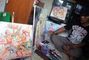Lukisan Naturalis, Usung Budaya Tradisional Daerah di Atas Kanvas