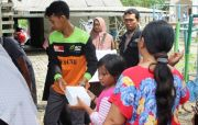 ACT-MRI Jatim Salurkan Bantuan Pangan untuk Korban Banjir di Gresik