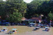 Taman Hiburan Pantai Kenjeran Larang Wisatawan Naik Perahu