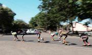 Sepi Turnamen, Atlet Sepatu Roda Tetap Genjot Latihan Fisik