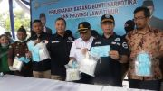 Gagal Dibawa Ke Madura,  8,1 Kg SS Kini Dimusnahkan BNNP Jatim