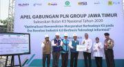 Menyambut Bulan K3, PLN Group Jawa Timur Gelar Apel Bersama