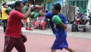 KONI Sidoarjo Diharap Benahi Fasilitas Latihan Tinju Yang Belum Layak