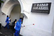 Kader Nasdem Semprot Kantor Radar Surabaya Antisipasi Wabah Covid-19