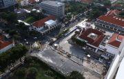 Terdampak Corona, Target Perampungan Alun-Alun Surabaya Molor