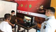 Antisipasi Covid-19, WBP Rutan Medaeng Jalani Persidangan Online