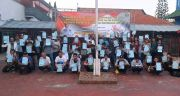 Terima Asimilasi, 62 Warga Binaan Rutan Medaeng Bebas