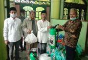 Cak Machfud Salurkan Bantuan Sembako ke Ponpes Miftachussunah Surabaya