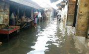 Banjir Akibat Luapan Kali Lamong Sudah Mulai Surut