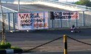 Stadion GJOS Jadi Tempat Isolasi, Warga Pasang Spanduk Penolakan
