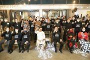 Mantap Dukung Cak Machfud, Para Pengusaha Kompak Pakai Baju Superteam