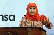 Khofifah Siap Jalankan Pesan Jokowi Atasi Krisis Ekonomi-Kesehatan