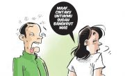 Usaha Bangkrut, Istri pun Cabut