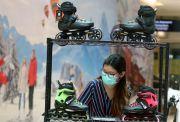 Booming Sepeda, Roller Blade Tak Mau Kalah
