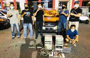 Maling Nekat Jebol Panel Telepon Milik Provider di Lima Lokasi