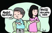 Suka Menyalahkan Istri, Njekethek Pingin Selingkuh