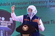 Gubernur Khofifah Minta Waspadai Masuknya Virus B1117