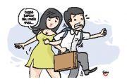 Tak betah Kena Jurus Posesif Sang Istri