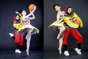 Padu Padan Basket dan Ballet Tampil Fashionable, Sporty & Trendy
