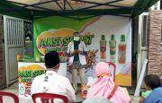 Semprot Disinfektan di RW 01 Kelurahan Kranggan Kabupaten Mojokerto